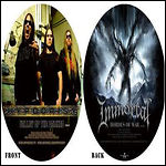 Hypocrisy / Immortal - Valley Of The Damned / Hordes Of War (Single)