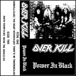 Overkill - Power In Black (EP)