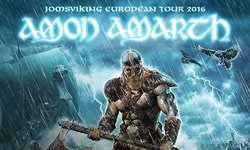 Amon Amarth, Testament & Grand Magus - 18.11.2016 - Ludwigsburg, MHP Arena