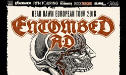 Entombed A.D., Voivod, Lord Dying & Morbid Evils - 25.11.2016 - Stuttgart, Club CANN