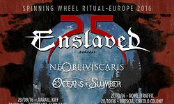 Enslaved, Ne Obliviscaris & Oceans of Slumber - 30.09.2016 - Stuttgart, Club CANN